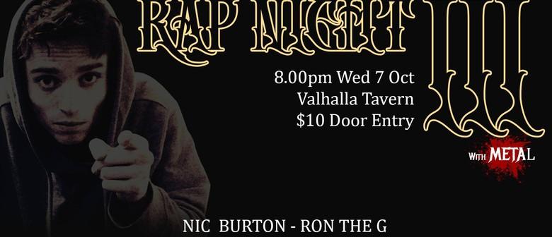 Dirty Mike Rap Night 3