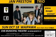 The Piano Boogie Woman Album Release Show - Jan Preston Trio