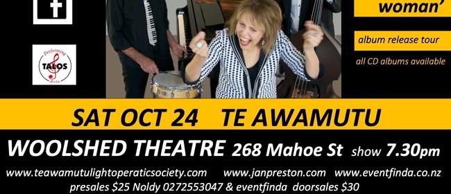 The Piano Boogie Woman Album Release Show - Jan Preston Trio