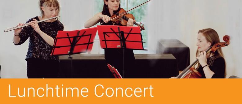 Lunchtime Concert – 'Aphra Trio' Flute, Violin & Cello