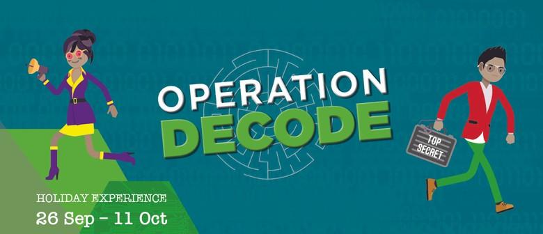 MOTAT School Holiday Experience: Operation DECODE