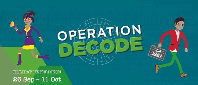 MOTAT School Holiday Experience: Operation DECODE