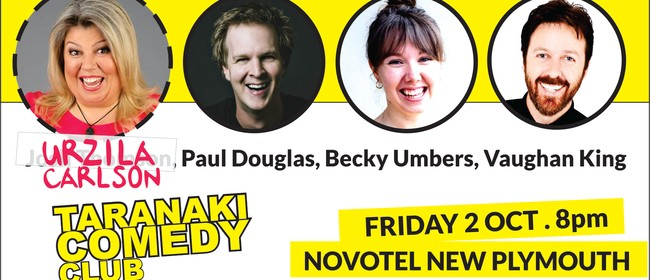 Taranaki Comedy Club - October