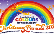 Colours of The Rainbow - Christmas Parade 2020