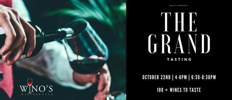 Wino's presents The Grand Tasting 2020