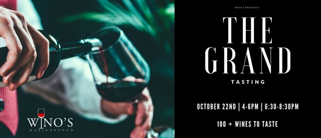 Wino's presents The Grand Tasting 2020