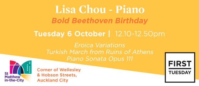 First Tuesday Concert - Lisa Chou