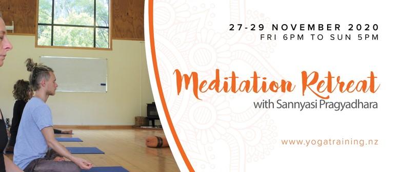 Meditation Retreat with Sannyasi Pragyadhara