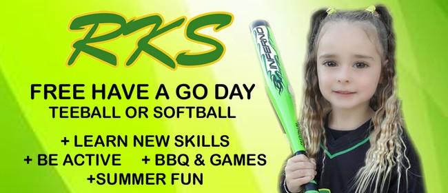 Have A Go Day - RKS Softball (Junior Softball & Tball)