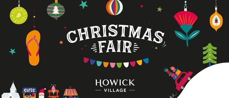 Howick Village Christmas Fair 2020