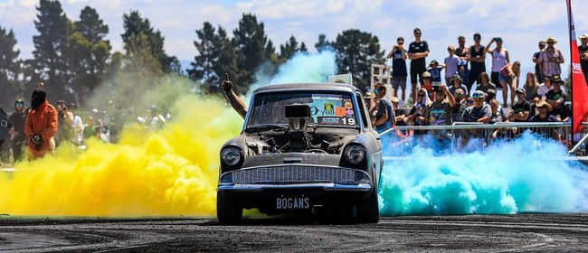Central Motor Speedway NZ Burnout Champs + Track Action