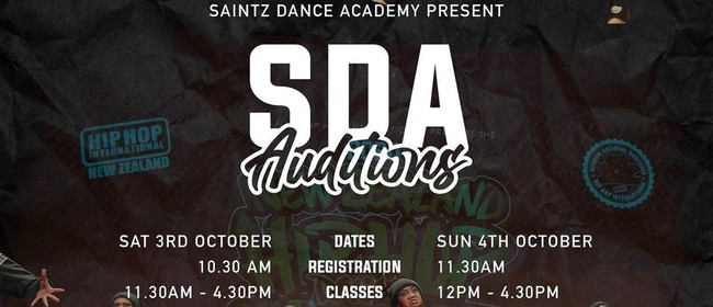 Saintz Dance Academy Auditions