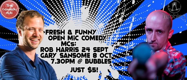 Fresh & Funny Comedy Open Mic