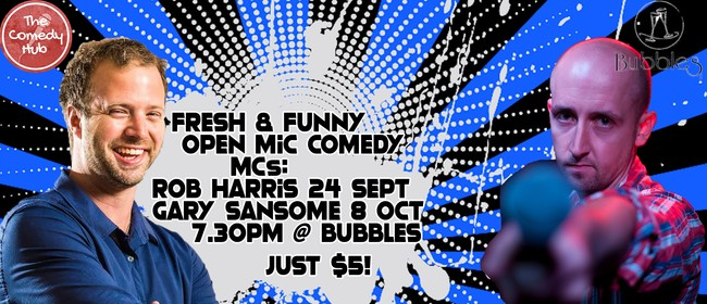 Fresh & Funny Comedy Open Mic
