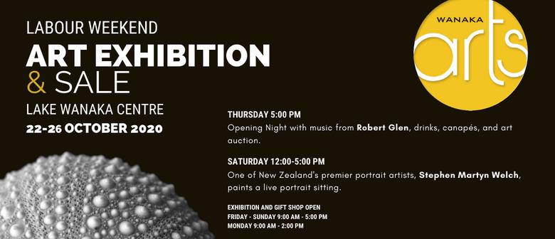Wanaka Arts -  Art Exhibition and Sale -  Opening Night