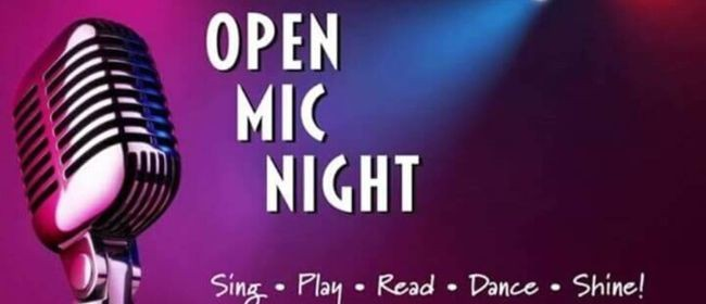 Devonports Got Talent Open Mic Night