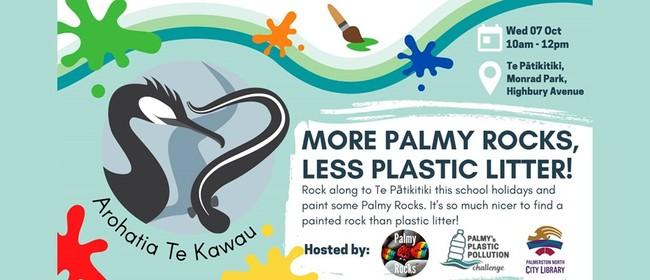 More Palmy Rocks, Less Plastic Litter