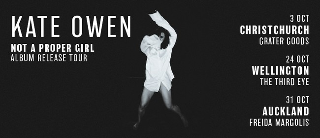 Kate Owen Album Release - Not A Proper Girl