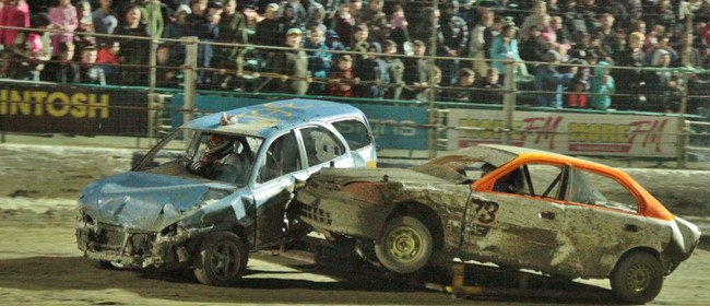 V8 Saloon Series, Ramp Derby, Brent Lowe Stockcar Memorial
