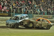 V8 Saloon Series, Ramp Derby, Brent Lowe Stockcar Memorial