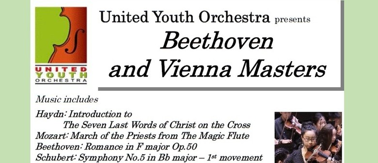 "United Youth Orchestra presents ""Beethoven & Vienne Masters"""