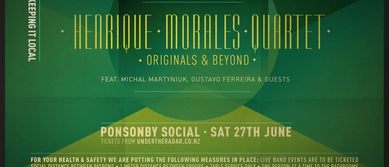 Henrique Morales Quartet Live