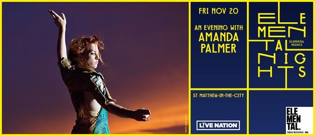 Elemental Nights - An Evening With Amanda Palmer
