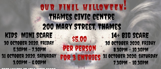 Halloween - Thames Haunted House 2020