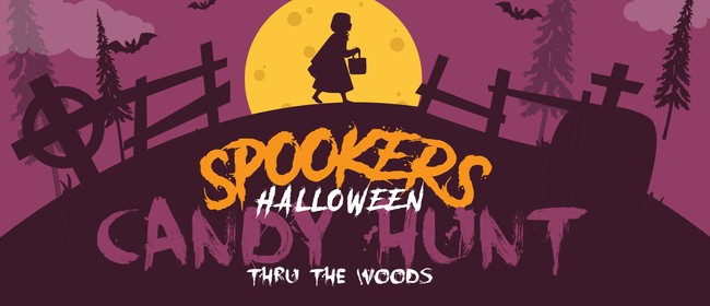Kids Halloween Candy Treat Hunt through 'The Woods'