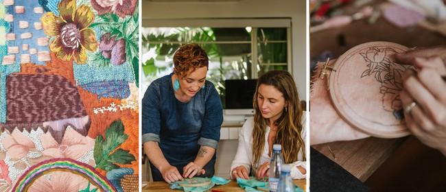 Floral Embroidery Workshop - Nov