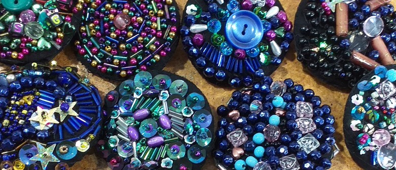 School Holiday Activity: Make a Glitzy Brooch
