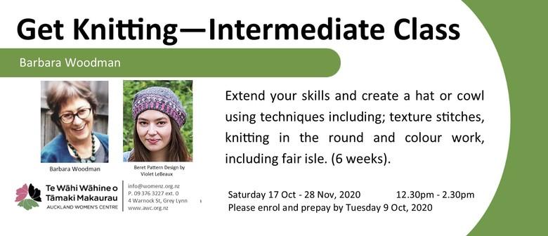 Get Knitting - Intermediate Class