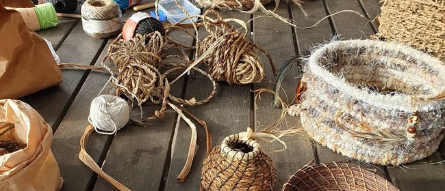 Natural Basket Making (Coiling) with Ann-Marie Karam