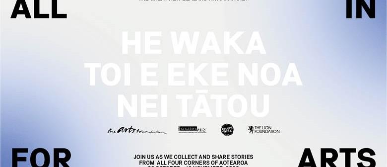 All in for Arts - Waihōpai Invercargill