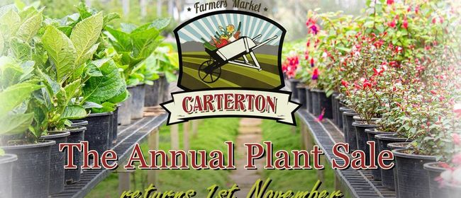 Annual Plant Sale 2020 - Carterton Farmers' Market