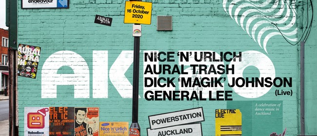 Nice'n'Urlich, Aural Trash + Dick 'Magik' Johnson Live