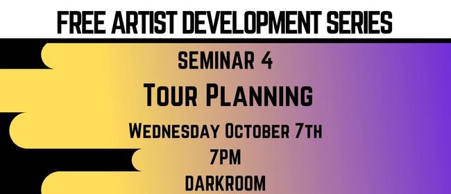 Free Seminar - Tour Planning
