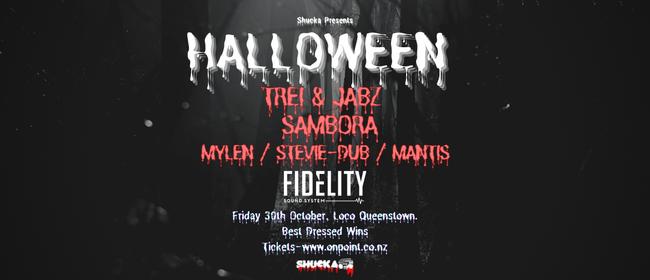 Shucka Presents - Halloween Rave - Queenstown