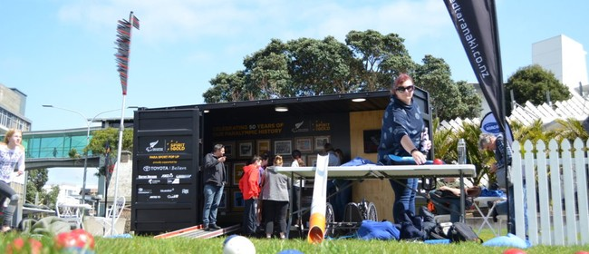 The Para Sport Pop Up in Wellington