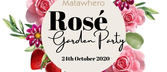 The Rosé Garden Party