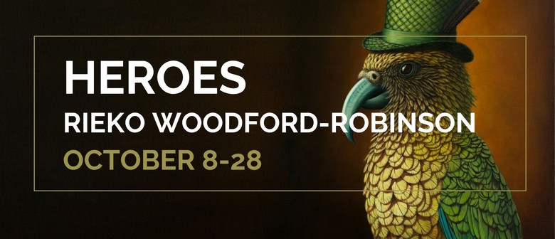 Heroes - A solo exhibition by Rieko Woodford-Robinson