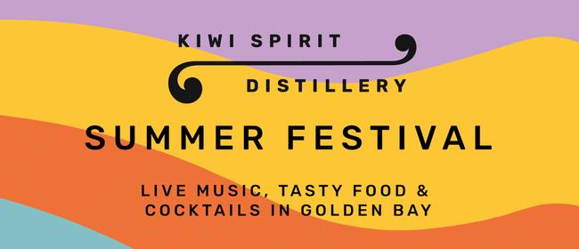 Kiwi Spirit Distillery's Summer Festival