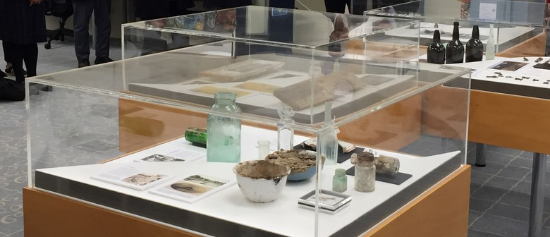 Archaeological display: 107 Wharf Street