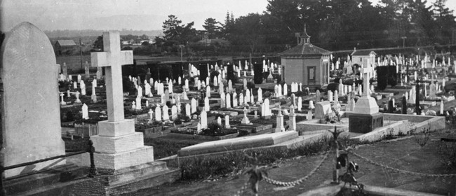 Terrace End Cemetery by twilight