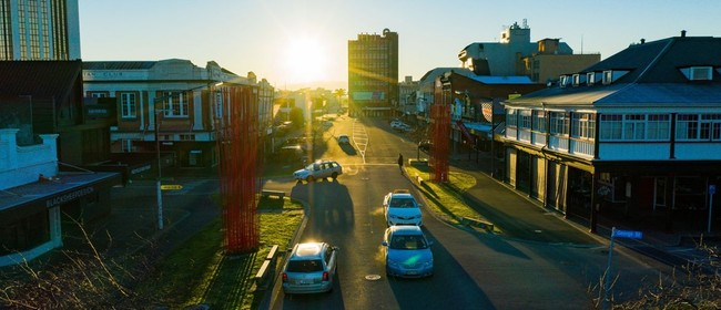 Palmerston North's other shopping street