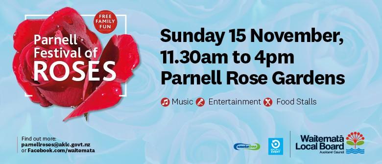 Parnell Festival of Roses 2020