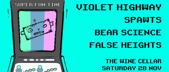 Violet Highway - False Heights (Taupo) - Spawts - Bear Sc
