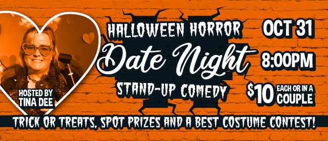 Date Night Comedy - Halloween Horrors