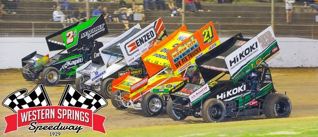 NZ Sprintcar Grand Prix + BT Memorial + Side Cars + Xmas