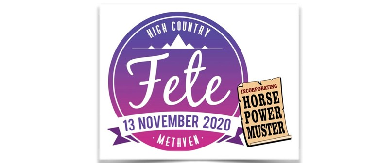 Methven High Country Fete and Horsepower Muster